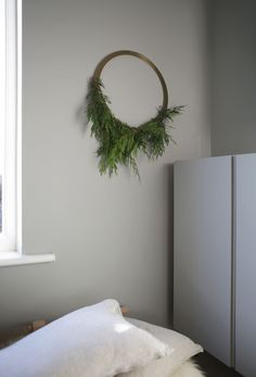 A brass wreath three