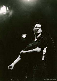 Dave Gahan - Singles Tour 1998 - Foto by M. Olexova