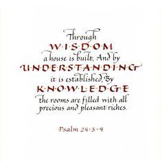 Housewarming Scripture