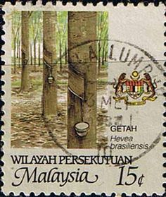 Malay State of Malacca 1986 Agricultur Fine Used                    SG 99 Scott 92    Other Asian and British Commonwealth Stamps HERE!