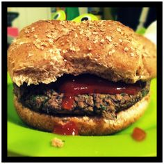 Southwest Black Bean Burger