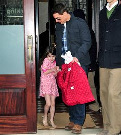 Suri Cruise: Her Life With Dad Tom: Fashion Plate