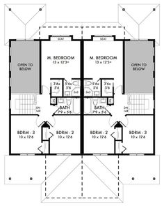 Plan No.591009 House Plans by WestHomePlanners.com