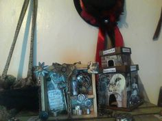 close up of small drawer and collage castle