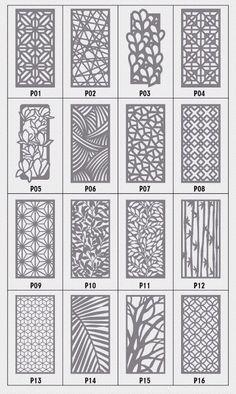 Source by ehnaz_o Laser Cut Screens, Laser Cut Panels, Cnc Cutting Design, Laser Cutting, Gate Design, Door Design, Residential Interior Design, Interior Design Living Room, Jaali Design
