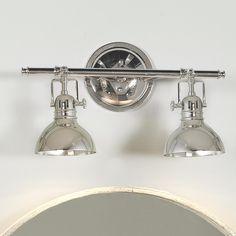 retro glass globe bath light 2 light 2 polished. Black Bedroom Furniture Sets. Home Design Ideas