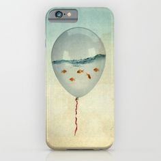 Balloon Fish iPhone & iPod Case. iPhone Cases   Great Gift Ideas   Gadgets   Black Friday