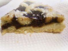 Crostata al cioccolato  http://questepagine.blogspot.it/2014/03/crostata-al-cioccolato.html
