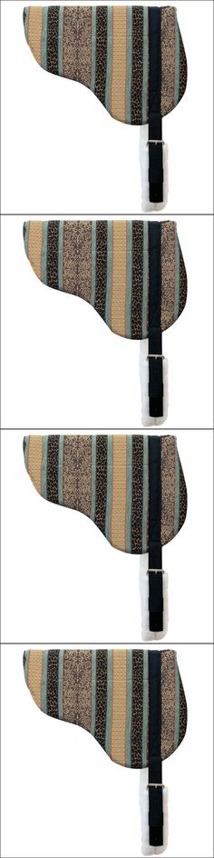 Saddle Pads 183377: Weaver Pattern Stripes Herculon Horse Saddle Bareback Pad With Tacky-Tack Bottom -> BUY IT NOW ONLY: $77.95 on eBay!