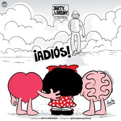 Heart Vs Brain, Calvin Y Hobbes, Mafalda Quotes, Laugh Out Loud, Paper Dolls, True Love, Minnie Mouse, Snoopy, Comics