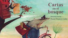"""Book trailer de """"Cartas en el bosque"""" de Susanna Isern y Daniel Montero. Un cartero misterioso con un secreto muy bien guardado, muchos animales del bosque y un ratón espía que no hay que perder de vista en ninguna de las escenas."""