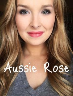 My ultimate favorite pink! Aussie Rose LipSense! Click to order or become a distributor for only $55. 20-50% off :)