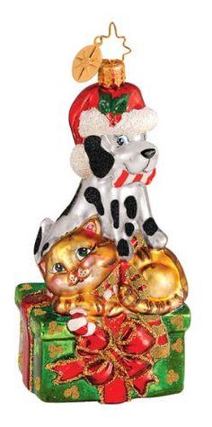 RADKO PAWS FOR A CAUSE Dog Cat Glass Ornament Charity Radko http://www.amazon.com/dp/B003U1H87O/ref=cm_sw_r_pi_dp_i26Xtb03HPP4ZCKP