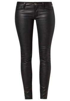 Replay - LUZ - Leren broek - Zwart