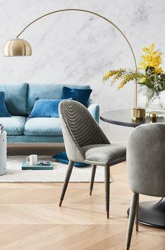 Einzigartiges Design + Kuscheliges Samt U003d Pure PERFEKTION! Must Haves Für  Jeden Interior Lover. // Wohnzimmer Esszimmer Samt Stühle Ideen Einrichten  ...