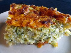 OMG we want a piece of this zucchini dressing from Karen Figgatt of Cross Lanes, WV right now!