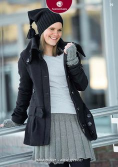 Click to enlarge Knitting Patterns Free, Free Pattern, Vest, Model, Jackets, Fashion, Threading, Down Jackets, Moda