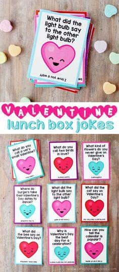 Free Printable Lunch Box Jokes