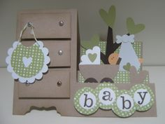 Stamps & Scrapz: Baby Side Step Card