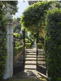 Formal entry with double gates