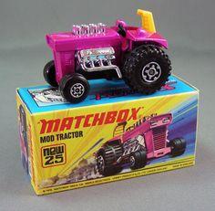 MOD TRACTORMatchbox Superfast 1 - 75 Produced1972 - 1978 NumberMB9...DE MI PRIMER COLECCIÓN..