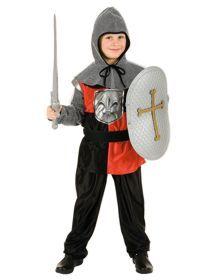 Ritterkostüm von Orlob. Hochwertige Ritter-Kostüme mit Accessoires. Kostüme in den Größen für 4 bis 10 Jahre zum Ausleihen bei Planet-Box.