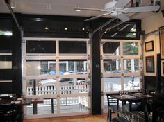 Commercial Garage Door Restaurant
