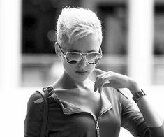 white hair pixie cut - Google Search