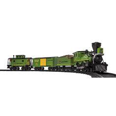 Lionel LLC Lionel Trains John Deere Ready-to-Play Train Set #lioneltrainsets #modeltrainsets
