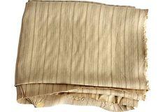 Ticking Stripe Fabric, 3 Yds. on OneKingsLane.com