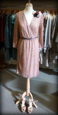 """LOOK OTOÑAL #6 - """"Glamour con brillo"""" - Vestido y zapatos de @Hoss Intropia  http://conlaede.wordpress.com/2013/09/27/primeras-propuestas-de-otono/"""