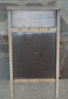 Vintage Washboard Kroger Co 1940s via Etsy.