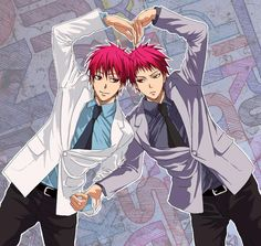 The two Akashis. His personalities really intrigue me. From what I know of the…