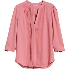 H&M Blouse with pin-tucks