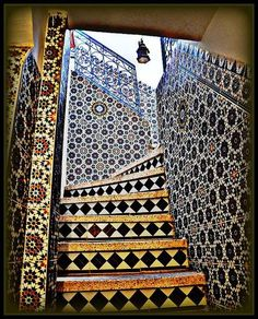 Stairs in Morocco