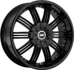 Avenue 603 Black  wheels purchased through our websites carry the manufacturer's warranties.  http://www.thewheelconnection.com/