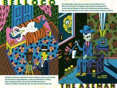 Honky Tonk Zombie - Book - Wagenbreth Art And Illustration, Jazz, Honky Tonk, Graphic Novels, Illustrators, Burns, Draw, Comics, Book