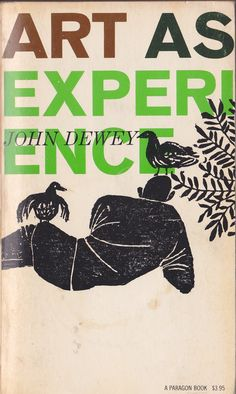 Robert Sullivan – Cover design for John Dewey's Art as Experience, Paragon Books, 1979