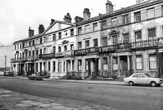 Here is Falkner Square in Liverpool way back in Liverpool Life, Liverpool History, King John, Modern Metropolis, Looking Up, Old Town, Lantern, Past, Nostalgia