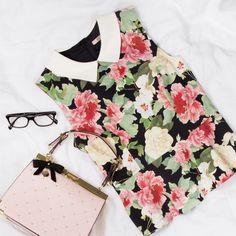 Wonder Bloom Top | Workwear Flatlay | Review Australia