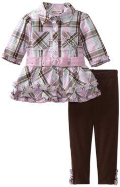$18.03 Amazon.com: Little Lass Baby-Girls Infant 2 Piece Long Sleeve Legging Set: Clothing