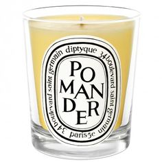 Pomander White Candle DIPTYQUE