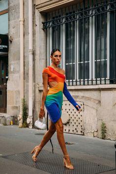Casual Street Style, Street Style Looks, Street Style Women, Street Styles, Checkered Suit, Paris Shows, Cool Street Fashion, Paris Fashion, Vogue Paris
