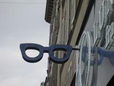 Optician sign, Paris