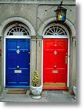 Ireland-Want to live 3+ months out of every year here.  Red door or blue?
