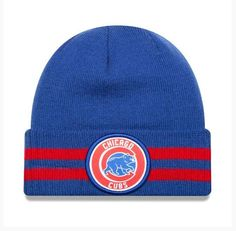 Chicago Cubs 2 Striped Remix Knit By New Era