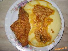 Králík nebo kuře v hořčičné marinádě a zapečené se šlehačkou