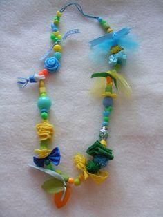 Necklace - Nina - handmade, zelfmaken, ketting, pretty