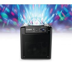 ION Party Time Bluetooth luidspreker met lichtshow