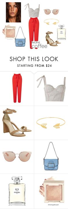 """""""coffee"""" by asiak19 on Polyvore featuring moda, Miss Selfridge, Rosie Assoulin, Lord & Taylor, Christian Dior, Tory Burch i Chanel"""